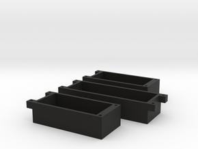 LED-Caps in Black Natural Versatile Plastic
