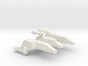 3125 Scale LDR Heavy War Cruiser (CWH) CVN in White Natural Versatile Plastic