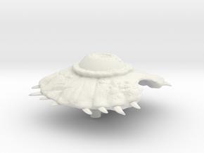 Argus in White Natural Versatile Plastic