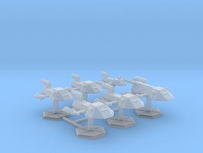 7000 Scale Kzinti Fleet Builder Collection SRZ in Smooth Fine Detail Plastic