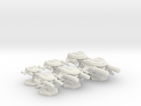 7000 Scale Seltorian Fleet Core Collection MGL in White Natural Versatile Plastic