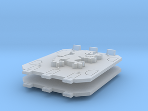 Space Vikings Jericho tank doors in Smooth Fine Detail Plastic