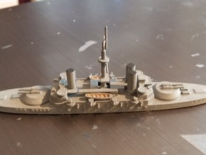 1/1250 Re Umberto Class in Smooth Fine Detail Plastic