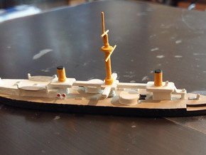 1/1250 Duilio Class in Smooth Fine Detail Plastic