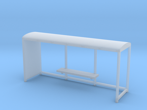 Bus stop 1/48 in Smooth Fine Detail Plastic