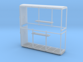 Bus stop (x2) 1/160 in Smooth Fine Detail Plastic