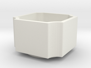small bowl in White Natural Versatile Plastic