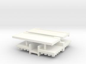CAISSON DE 75 PART 2 in White Processed Versatile Plastic