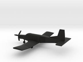 PAC 750XL (Skydiving) in Black Natural Versatile Plastic: 1:200