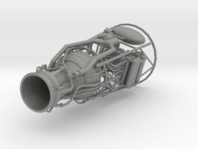V-2 aka A-4 Engine scale model in Gray PA12: 1:24