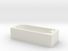 Modern Bath 1/24 in White Natural Versatile Plastic