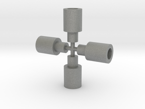 Taurion Wheel Extender in Gray PA12
