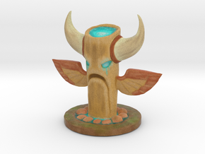 Water Totem in Full Color Sandstone
