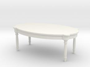 Antique Table 1/35 in White Natural Versatile Plastic
