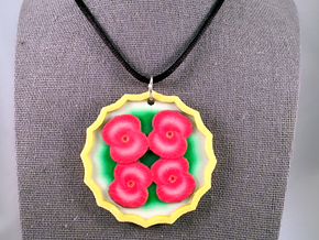 Crown Of Thorns Pendant in Natural Full Color Sandstone