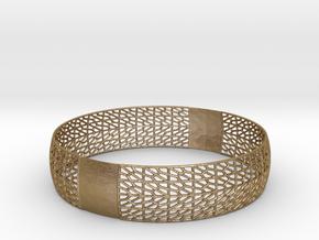 Bracelet in Polished Gold Steel