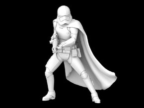 1/47 Captain Phasma in Smooth Fine Detail Plastic