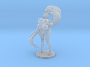 Kira Pinup 83mm in Smooth Fine Detail Plastic