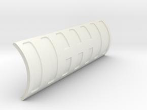 SnowPlow-1to10 in White Natural Versatile Plastic