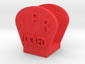 CRC1009 Diff Lock Switch Protector TRX-4 TQi Radio in Red Processed Versatile Plastic
