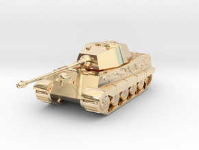 Tank - Tiger 2 - size Large in 14K Yellow Gold