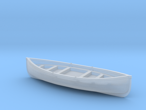 Manly Ferry Traditional Timber Lifeboat in Smooth Fine Detail Plastic