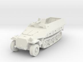 Sdkfz 251 D1 1/76 in White Natural Versatile Plastic