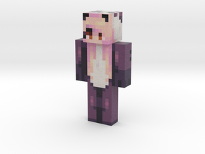 pinksparrow | Minecraft toy in Natural Full Color Sandstone