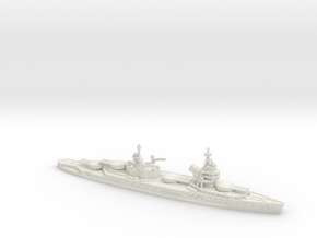 Lyon (WWII) 1/1800 in White Natural Versatile Plastic