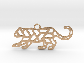 Year Of The Tiger Charm in Natural Bronze