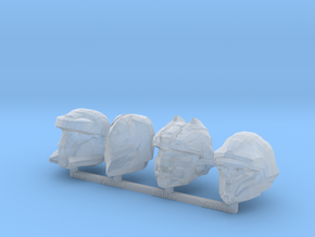 MB_MCX Halo 4 Helmets 2 in Smooth Fine Detail Plastic