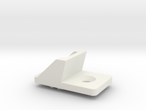 Table Saw Guide Clicp in White Natural Versatile Plastic