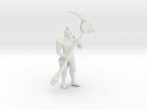 DantePrintTest 1 7 in White Natural Versatile Plastic