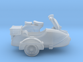 Vespa Sidecar 160 in Smooth Fine Detail Plastic