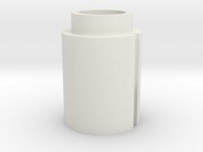 Sentinel - Neopixel Adapter in White Natural Versatile Plastic