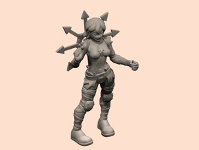 32mm Cultist Chan in Smoothest Fine Detail Plastic