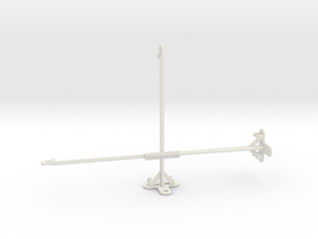 LG G Pad 5 10.1 tripod & stabilizer mount in White Natural Versatile Plastic