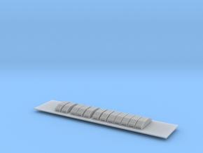 Scala N - FS E632-E633 reostati Fusani in Smooth Fine Detail Plastic