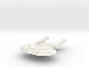Norton Class BattleCruiser in White Natural Versatile Plastic