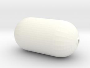 Yokohama Fender, Basic Body (1:50) in White Processed Versatile Plastic