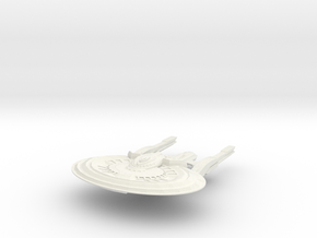 Iuvart Class HvyCruiser in White Natural Versatile Plastic