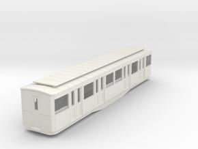 0-87-paris-metro-1935-remorque-AB4 in White Natural Versatile Plastic