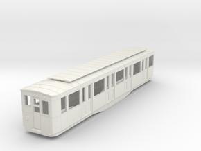 0-87-paris-metro-1935-thomson-sprague-motrice-M4 in White Natural Versatile Plastic