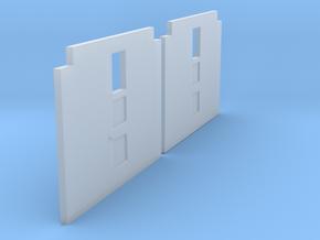 CNR Colonist Doors (1pr) in Smoothest Fine Detail Plastic