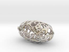 Small sized Secessic Love Pendant in Platinum