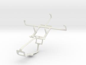 Controller mount for Xbox One & ZTE Nova 3.5 in White Natural Versatile Plastic