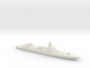 055 Destroyer (2017), 1/3000 in White Natural Versatile Plastic