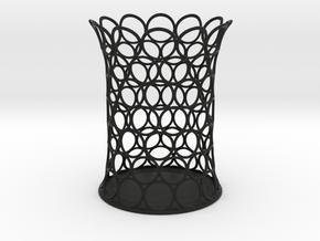 Tori Penholder B in Black Natural Versatile Plastic