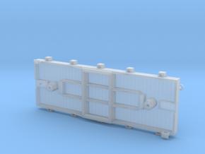 N USMRR FLATCAR 5  in Smooth Fine Detail Plastic