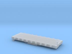 N USMRR FLATCAR 9 in Smooth Fine Detail Plastic